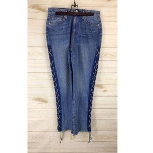 Hudson Jeans Zooey High Spirits High-Rise Straight